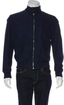 Ralph Lauren Purple Label Woven Harrington Jacket