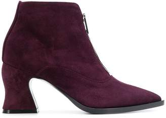 McQ front-zip ankle boots