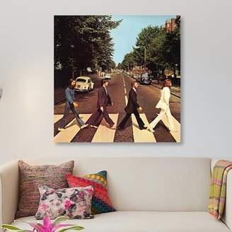 East Urban Home Radio Days 'The Beatles Series: Abbey Road' Photographic Print on Canvas