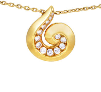 Van Cleef & Arpels Heritage  18K 0.70 Ct. Tw. Diamond Necklace