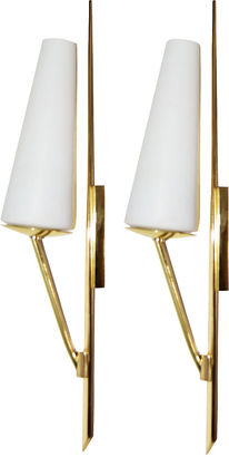 Maison Arlus Sconces, Pair