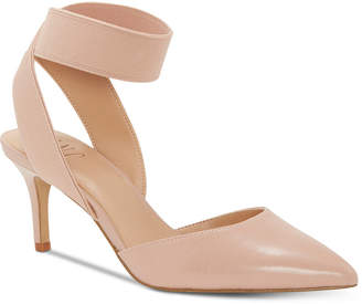 INC International Concepts I.n.c. Women Layloni Stretch Two-Piece Kitten-Heel Pumps, Women Shoes