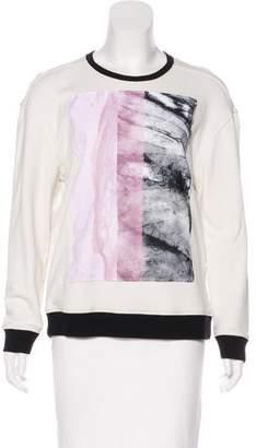 Helmut Lang Graphic Crewneck Sweatshirt