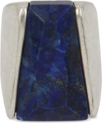 Robert Lee Morris Soho Silver-Tone & Stone Statement Ring