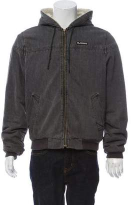 Marc Jacobs Fleece-Lined Denim Jacket