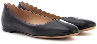 Chloé Lauren patent leather ballerinas