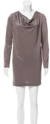 3.1 Phillip Lim Cowl Neck Mini Dress