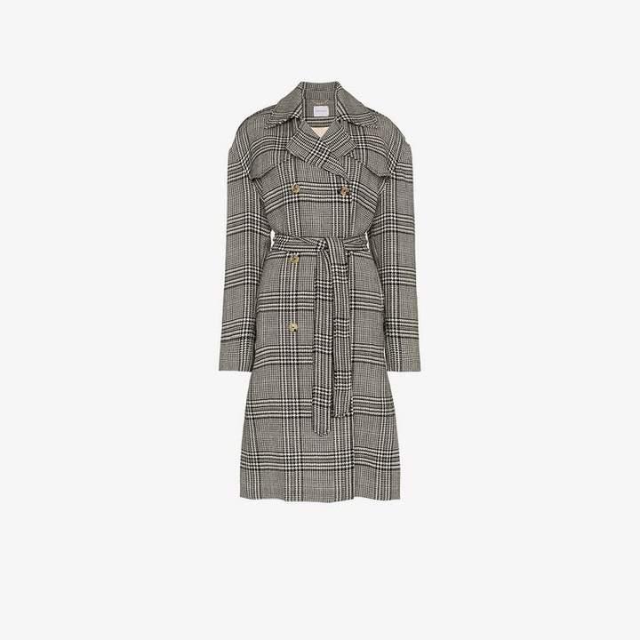 Amur Plaid Coat