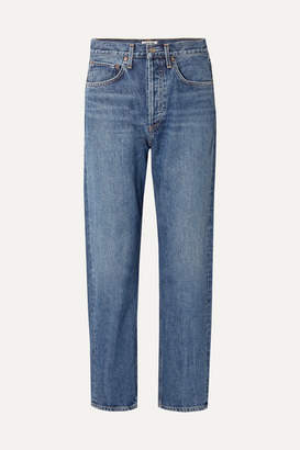 A Gold E AGOLDE - '90s Mid-rise Straight-leg Jeans - Mid denim