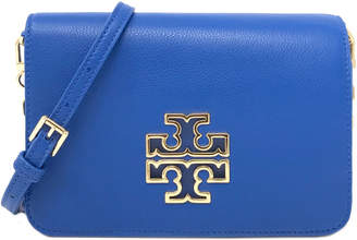 Tory Burch Britten Combo Leather Crossbody