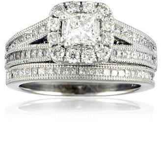 FINE JEWELRY LIMITED QUANTITIES 1 CT. T.W. Diamond Bridal Ring Set