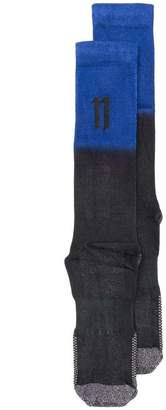 11 By Boris Bidjan Saberi logo knit socks