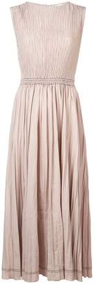 Barbara Casasola pleated midi dress