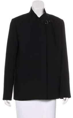 Ralph Lauren Wool Leather-Paneled Jacket