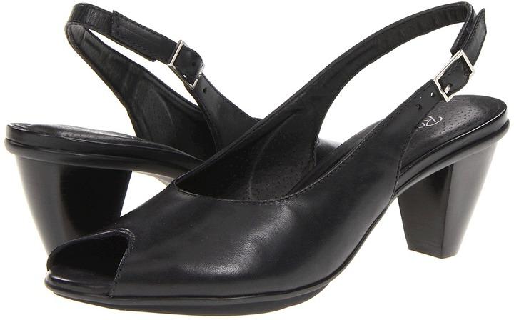 Rose Petals - Solo (Black Cashmere Leather) - Footwear