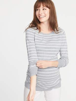 Old Navy Maternity Fitted Crew-Neck Sweater