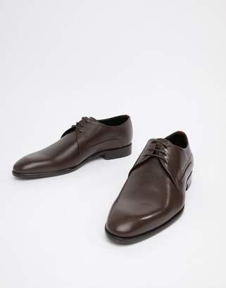 HUGO Appeal Derby Leather Shoes in Brown