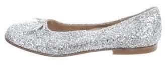 Gallucci Kids Girls' Glitter Ballet Flats