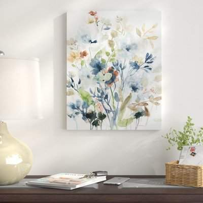 Wayfair 'Holland Spring Mix I' Oil Painting Print on Wrapped Canvas