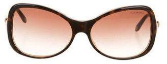 Tiffany & Co. Logo-Embellished Tortoiseshell Sunglasses $95 thestylecure.com