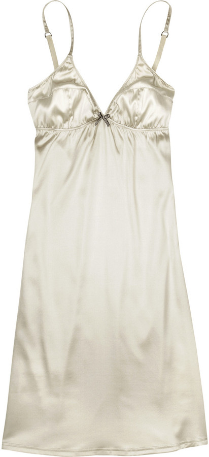 Burberry Stretch satin chemise