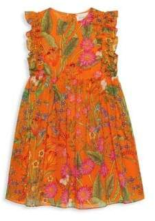 Gucci Little Girl's& Girl's Floral Dress