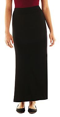 JCPenney by&by Knit Maxi Skirt