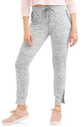 No Boundaries Juniors' Ankle Zipper Moto Joggers