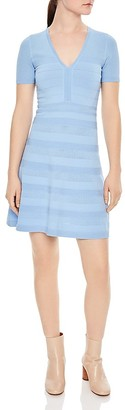 Sandro Milau Textured Dress $295 thestylecure.com