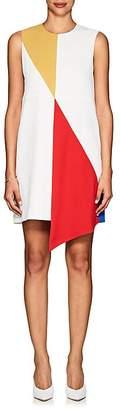 Lisa Perry WOMEN'S COLORBLOCKED CREPE DRESS