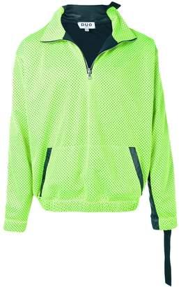 Duo citron and black jogging jacket