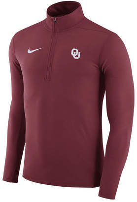 Nike Men's Oklahoma Sooners Element Quarter-Zip Pullover