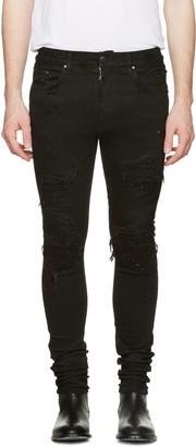 Amiri Black MX1 Jeans $1,250 thestylecure.com