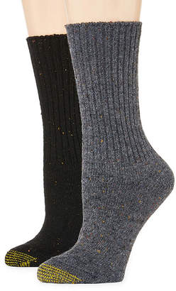Gold Toe 2-pr. Crossroads Boot Crew Socks