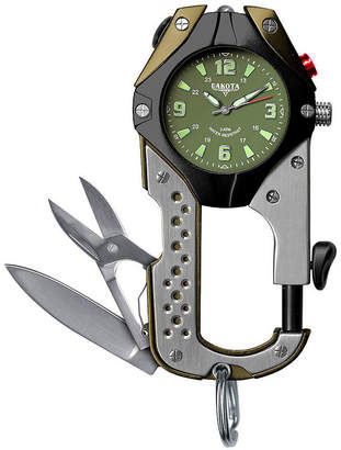 Dakota Men's Green Knife Clip Watch 87630