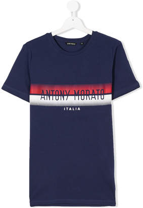 Antony Morato Junior TEEN logo print T-shirt