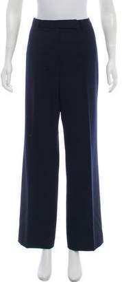 Brooks Brothers Wool Wide-Leg Pants