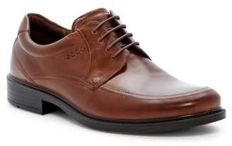 Ecco Inglewood Leather Apron Toe Derby