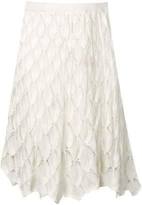 cbc61311e9b5 White Crochet Skirt - ShopStyle Australia