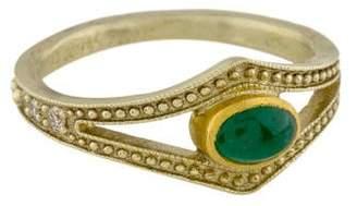 Gurhan Emerald & Diamond Ring