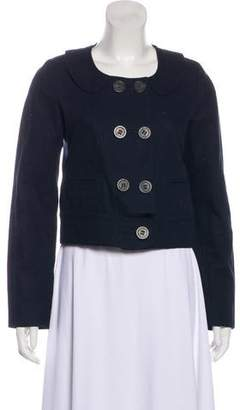 See by Chloe Square Neck Long Sleeve Jacket
