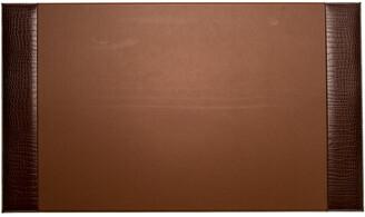 Bey-Berk Bey Berk Croco Leather Desk Pad