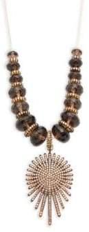 Azaara Crystal Pendant Necklace