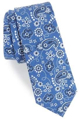 1901 Orduna Paisley Cotton Tie