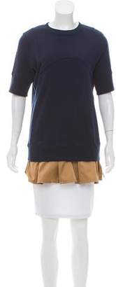 Undercover Pleat-Accented Tunic