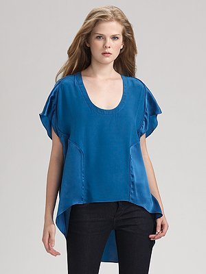 Geren Ford Silk Flutter Top