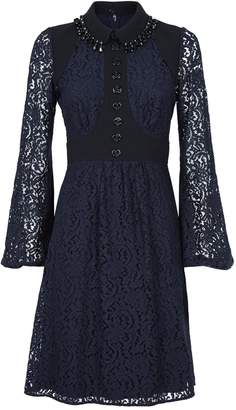 N°21 Lace Crystal-Embellished Dress