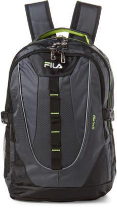 Fila Grey & Neon Ryder Laptop Backpack