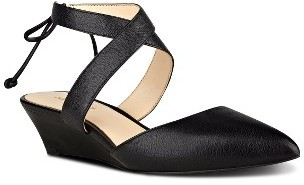 Women's Nine West Elira Crisscross Strappy Wedge Pump $78.95 thestylecure.com