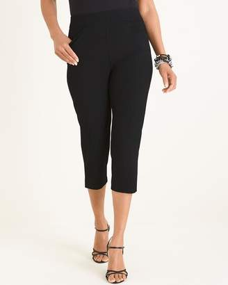 Travelers Collection Crepe Crop Pants